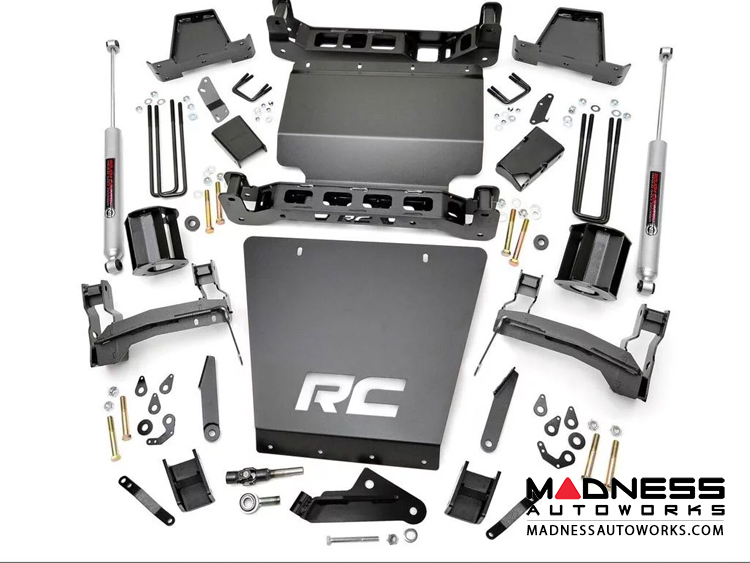 "Chevy Silverado 1500 4WD Suspension lift Kit w/ Aluminum Control Arms - 7"" Lift"
